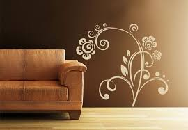 Small Picture Leonie Floral Wall Decal Beautiful Flower Ornament