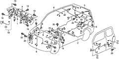 honda element a c diagram archives automotive wiring diagrams honda element wiring diagram