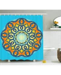oriental shower curtain shower curtain ethnic mandala fl print for bathroom oriental themed shower curtains