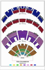Ppg Paints Seating Chart Interactive 39 Hand Picked Caesars Palace Colosseum Interactive Seating
