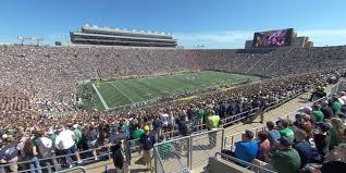 Notre Dame Stadium Section 131 Rateyourseats Com