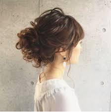 ウェディング専用髪型ティアラ花冠いろいろなアイテムを使った