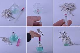 How To Decorate Perfume Bottles Recycled Perfume Bottles Decoration Pieces Recycled Things 8