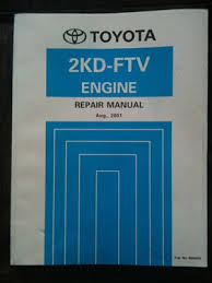 Toyota Hilux Hiace 2KD FTV engine workshop manual | #250104535