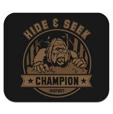 Low Profile Design Amazon Com Hide And Seek Champion Bigfoot Sasquatch Funny
