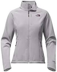 The North Face Womens Apex Bionic Jacket Metallic Silver Prior Season Outerwear