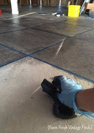 how to stain concrete part 2
