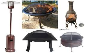 target outdoor heaters and fire pits
