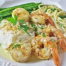 Seafood Bake for Two Recipe