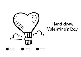 1066 x 1600 jpeg 241 кб. Hand Draw Valentine S Day Graphic By Raihanmubarok48 Creative Fabrica How To Draw Hands Valentines Day