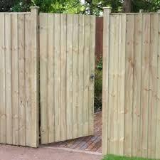 treated softwood featheredge gate
