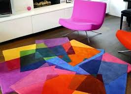 bright colored area rugs incredible blue home design healthtimeline in 5