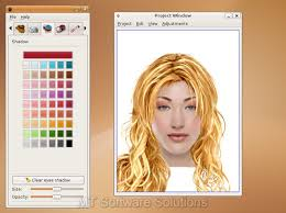 pc akvis makeup screenshot photo editing software screenshot key features with the blush feature you can