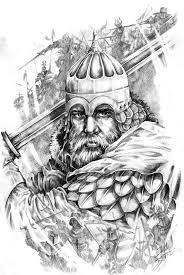 татуировка русский богатырь значение фото и эскизы