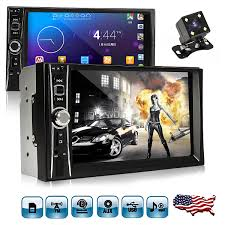7'' 2 Double Din HD1080P <b>Touch Screen Car MP5</b> MP3 Player ...