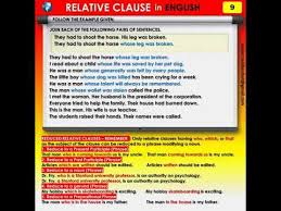 It has a subject and verb, but can't stand alone as a sentence. 9 English Grammar Relative Clause Whose Youtube