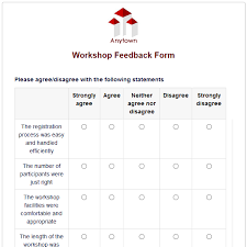 feedback forms for employees formwize examples