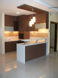 Kitchen Cabinet Design With Mini Bar Modern Kitchen With Mini Bar On Designs For Small Areas