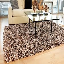 shag rugs. Espresso Paper Shag Rug Rugs O
