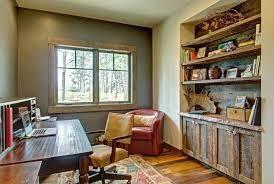 home office images. rustic home office images