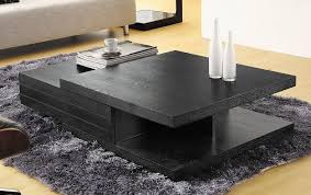 designer coffee tables stylish accessories contemporary black