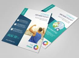 Flyer Samples Templates Extraordinary Fitness Membership Flyer Template MyCreativeShop