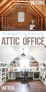attic office ideas. attic turned office renovation ideas f