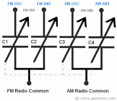 tuning capacitor schematic symbol