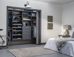 this beautiful closet is super modern and exudes plenty of elegance the reach in