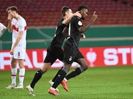Es ist das duell zwischen dem tabellenzweiten und dem dritten der. Gladbach Leipzig Wolfsburg Progress In German Cup Professional Santamariatimes Com