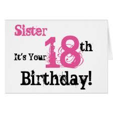 18 Geburtstag Schwester Spruche