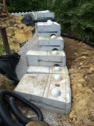 the giant precast concrete retaining wall blocks stack and together just like lego blocks tim carter