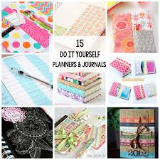 15 diy planners and journals to make or print at home
