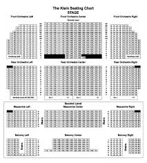 Klein Memorial Auditorium Seating Chart The Klein Memorial Auditorium Seating Chart