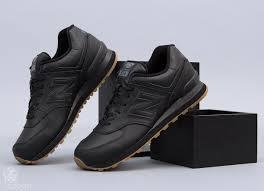 new balance 574 black. new balance 574 black/gum black h