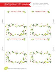 Name Templates Printable Printable Folded Place Cards Table Name Template Wedding