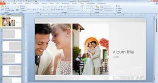 powerpoint photo albums free wedding photo album template for powerpoint 2013