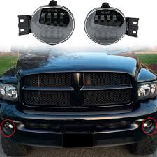 2012 Dodge Durango Fog Light Bulb Replacement 2 X Car Accessories Front Fog Light Led For 2002 2008 For