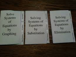 simplifying radicals solving systems of equations foldable booklets
