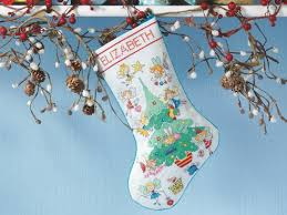 Cross Stitch Stocking Patterns Best How To Make A Christmas Stocking Cross Stitching