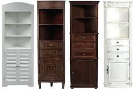 bathroom corner storage cabinets. Bathroom Storage Corner Cabinet Cabinets 2 White G