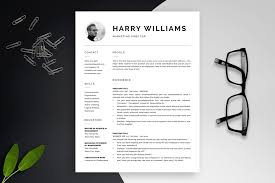 One Page Resume Templates Modern Modern Resume Templates Free Docx Best Template 2018 Word