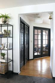 painting doors and trim diffe colors paint doors black interior painting and trim diffe