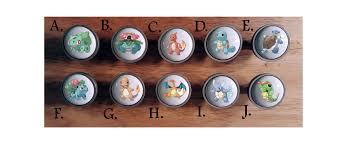 Pokemon Go Knobs / Bedroom Dresser Knob / Nursery Drawer Knobs