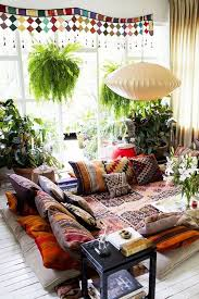 Colorful Bohemian Living Room Design Ideas Pictures Bohemian Living Rooms
