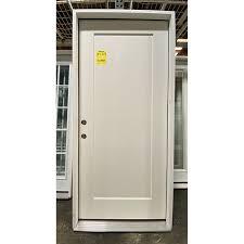 3 0 x 6 8 1 panel fiberglass entry door