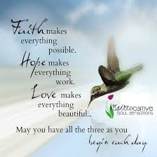 Faith Hope Love Hummingbirds Pinte Beauteous Quotes Of Inspiration And Hope And Love