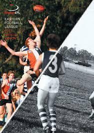 EASTERN FOOTBALL LEAGUE 2011 ANNUAL REPORT