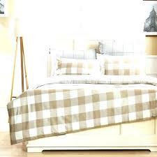 ticking stripe duvet striped bedding cover king blue