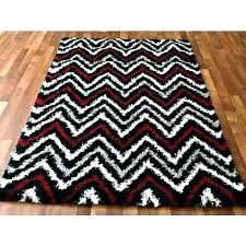 round black rug round black and gray rug red white contemporary zigzag area rugs grey unique round black rug